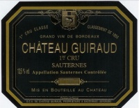 Chateau Guiraud  250ml White 2009